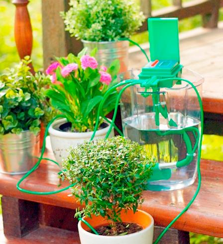 Автономная система полива комнатных растений своими руками 67