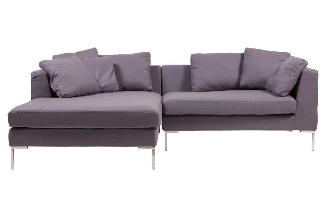 Диван Charles Sofa Sectional Left Grey Cashmere