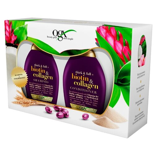 Набор OGX Biotin & collagen