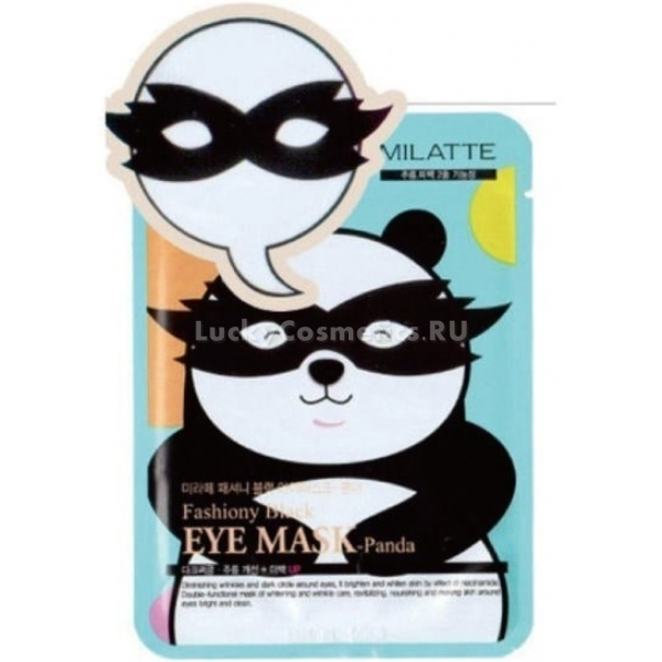 Milatte Fashiony Black Eye Mask Panda
