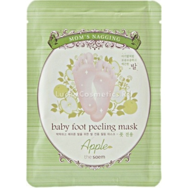 The Saem Moms Nagging Baby Foot Peeling Mask Apple
