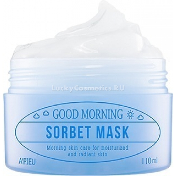 APieu Good Morning Sorbet Mask