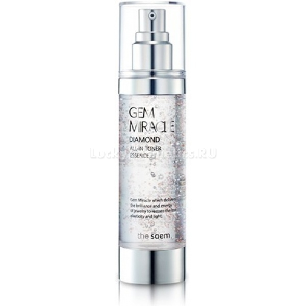 The Saem Gem Miracle Diamond All in toner Essence