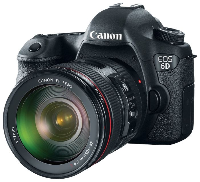 Фотоаппарат Canon EOS 6D (WG) Kit EF 24-105mm IS STM Зеркальный