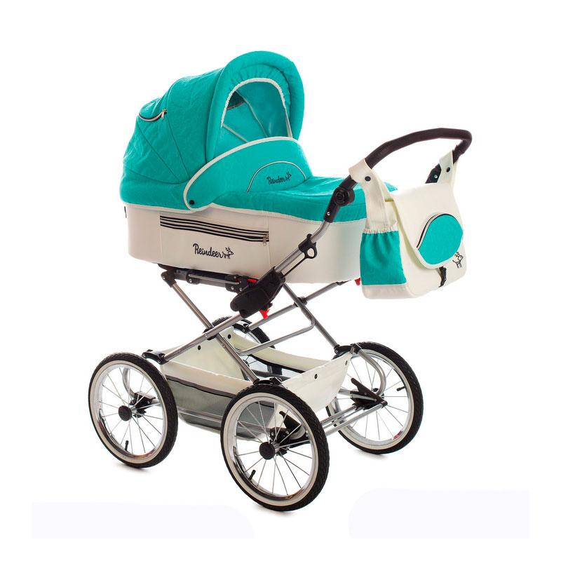 Коляски для новорожденных с большими колесами фото