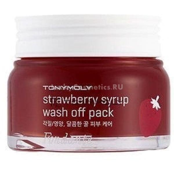 Tony Moly Fondante Strawberry Syrup Wash Off Pack