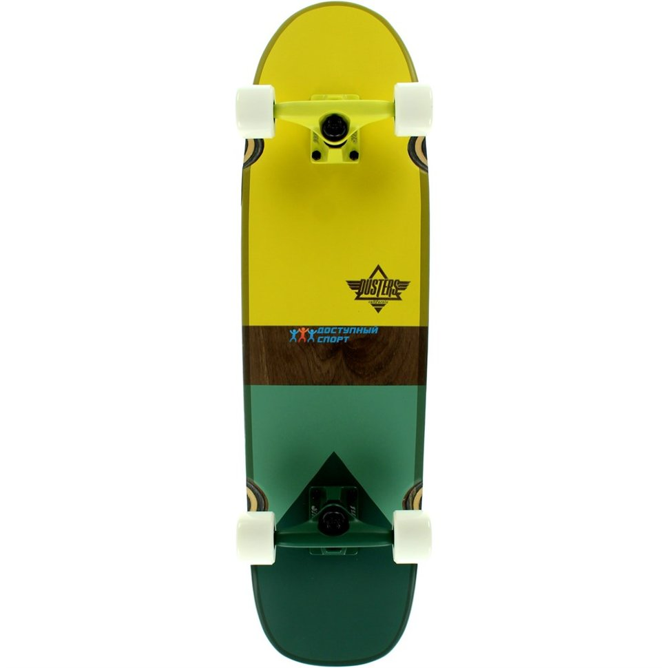 Лонгборд DUSTERS Grind Frames Cruiser Kryptonic White/Green
