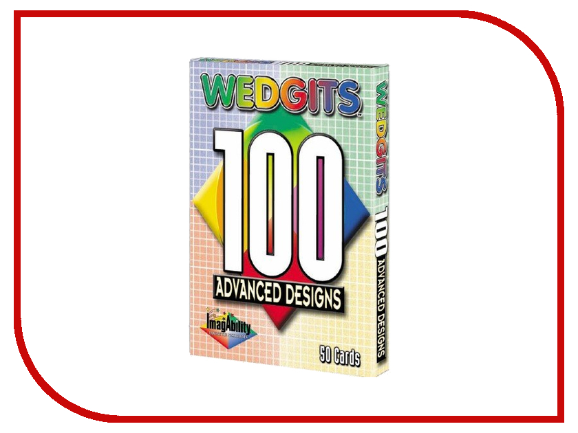 Конструктор Wedgits Advanced Design Cards для Imagination Set, Starter Set и Deluxe 300033