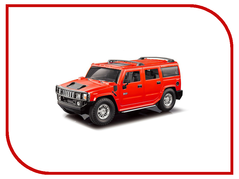Игрушка Hoffmann Hummer H2 1:24 47956 Red