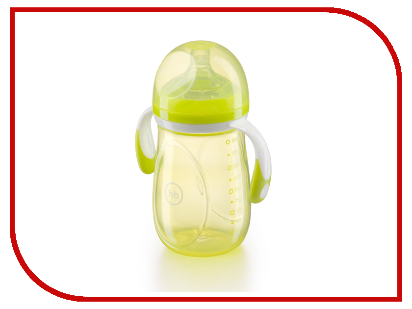 Бутылочка Happy Baby 10009 300ml Lime 4650069781684
