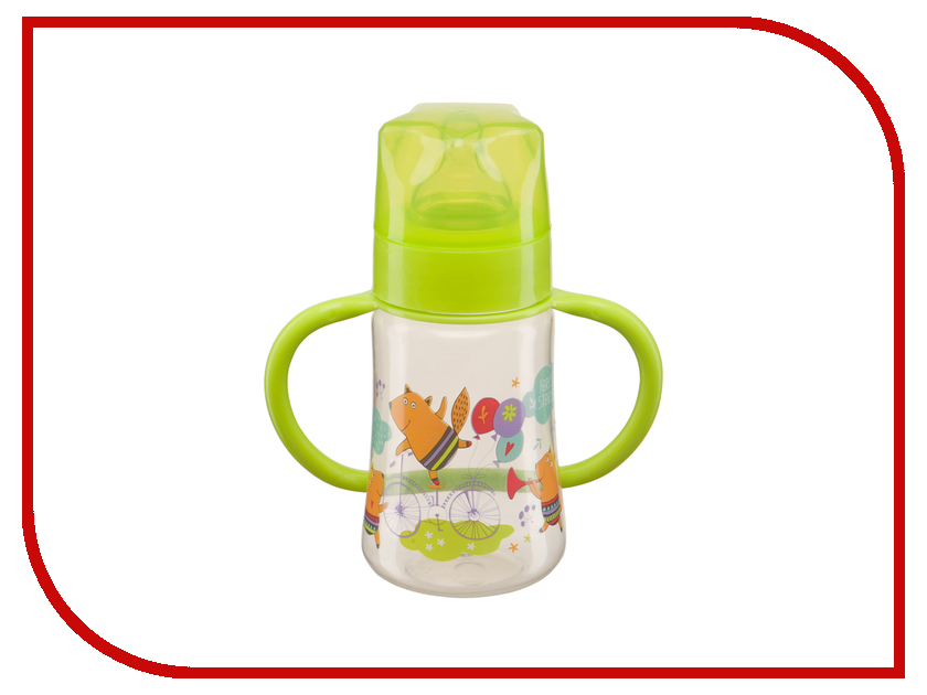 Бутылочка Happy Baby 10008 Baby Bottle 250ml Lime 4650069780458