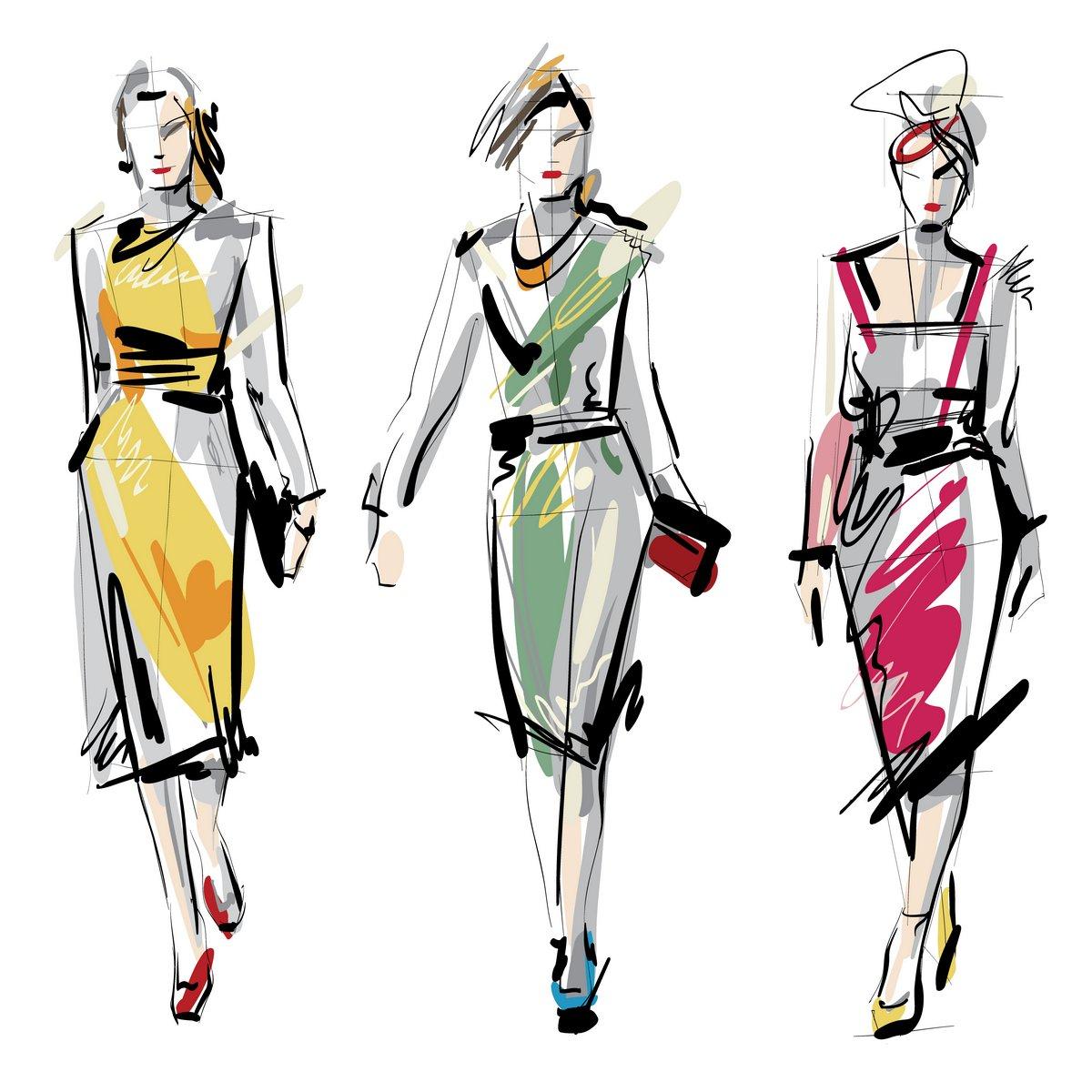 Рисунок полоски на одежде