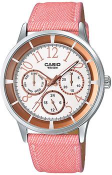 женские Японские наручные женские часы Casio LTP-2084LB-7B. . Коллекция Standard Analog - Casio