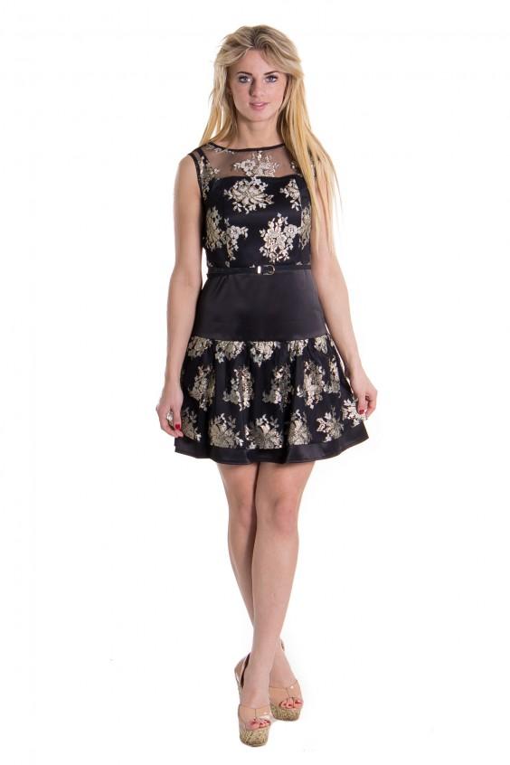 необычные рукава платья