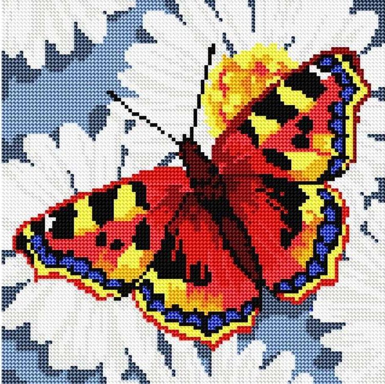 Алмазная вышивка бабочки фото