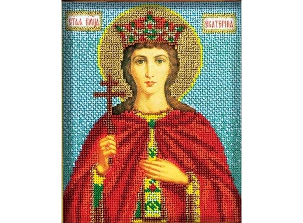 Вышивка из бисера святая екатерина