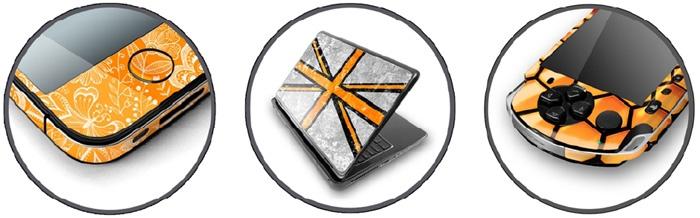 Виниловые наклейки на телефон и ноутбук
