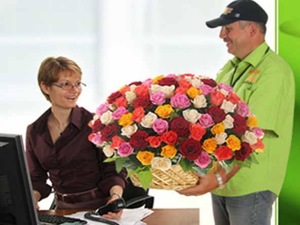 Как подарить цветы из другого города