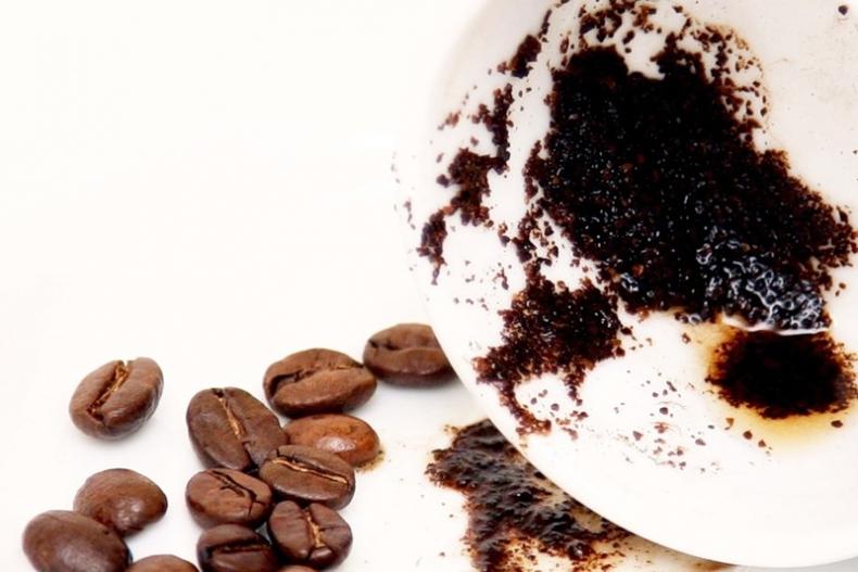 остатки спитого кофе