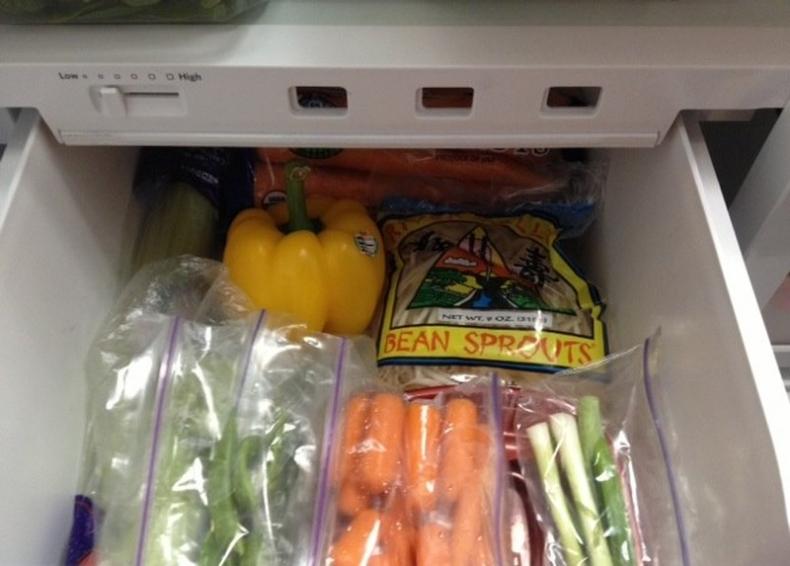 Продлите свежесть овощей