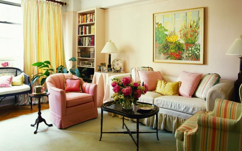 Картина по цвету стен