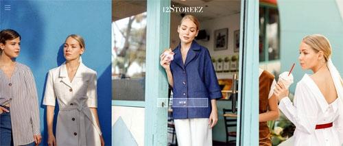 Интернет-магазин одежды 12Storeez