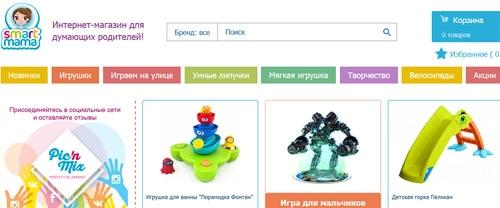 Интернет-магазин Смартмама