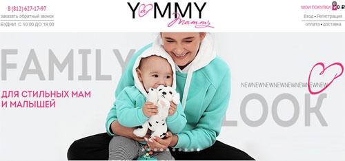 Интернет-магазин Yammy Mammy