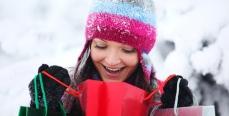 Покупка платья и теплой одежды зимой