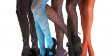 Шик и экстравагантность модных колготок осени 2013