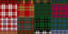 Модная шотландская клетка
