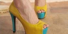 Мода на туфли с открытым носом