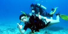 Дайвинг: встреча с Нептуном