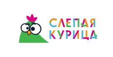Логотип Слепая курица
