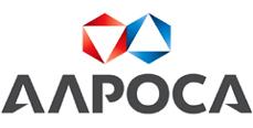 Логотип Алроса