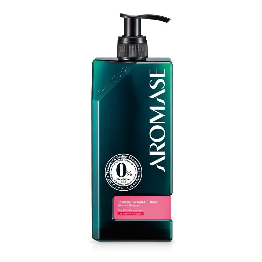 Летуаль AROMASE Шампунь интенсивный для жирной кожи головы с эфирным маслом Розы