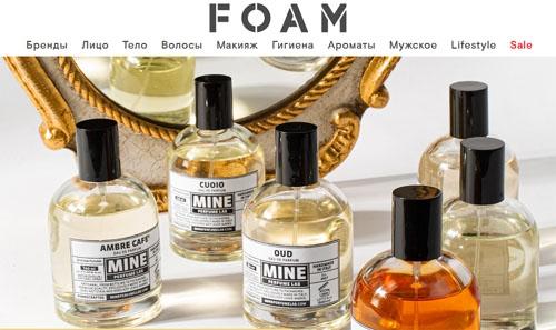 Интернет-магазин FOAM