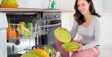 Работа посудомоечной машины